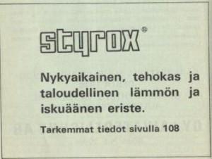 Styrox. 1970